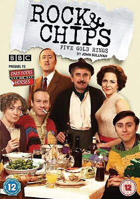 DVD:ROCK AND CHIPS - FIVE GOLD RINGS - NEW Region 2 UK