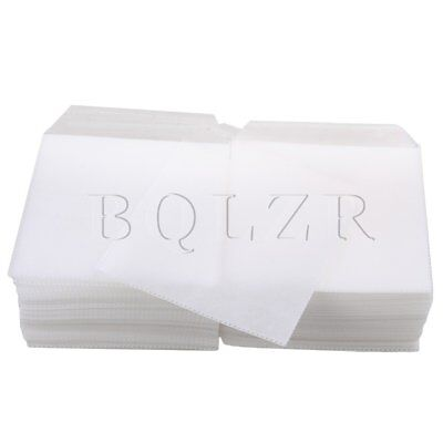 BQLZR 200pcs 16x13cm White Resealable Double-sided Wrap Sleeve for CD DVD