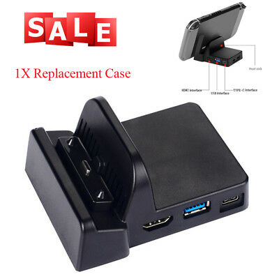 Docking Station Mini Replacement Dock Case Cover For Nintendo Switch Easy to Use