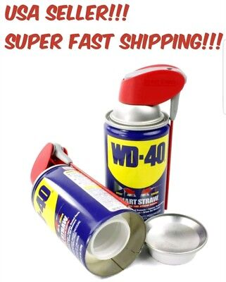 Wd 40 Hidden Lubricant Diversion Safe Home Herbal Stash Can Wd40 Can Container!