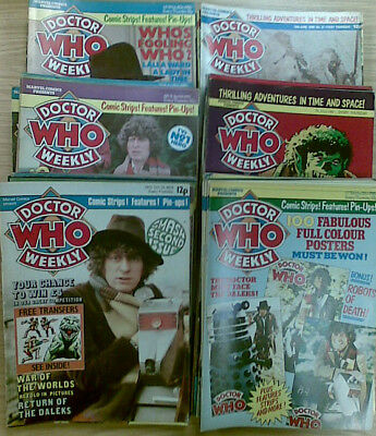 Doctor Who Weekly Magazine :    Many Issues Available -  £3.00 Each