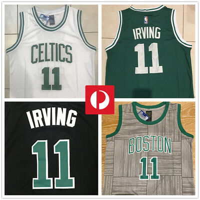 new product 50801 872bf KYRIE IRVING #11 Boston Celtics NBA JERSEY basketball singlet adult kid AU  stock