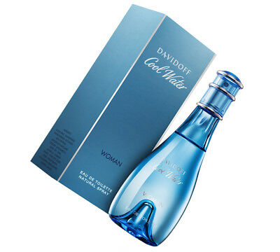 DAVIDOFF COOL WATER WOMAN EAU DE TOILETTE EDT SPRAY 100 ml