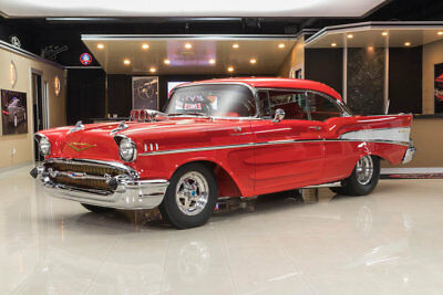 1957 Chevrolet Bel Air/150/210 Pro Street Bel Air Restomod! Supercharged GM 502ci Crate V8 (700+hp) TH400 Auto, PB, Disc