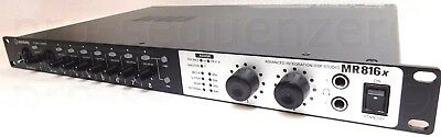 Steinberg MR816X FireWire Audio Interface DSP für Cubase  + 1.5Jahre Garantie