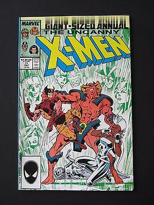 Uncanny X-Men Annual #11  VF/NM 1987 High Grade Marvel Comic