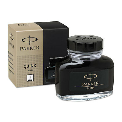 Super Quink Permanent Ink for Parker Pens, 2 oz Bottle, Black