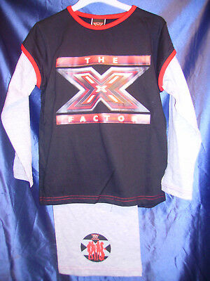 X Factor  Quality Girls Pyjamas Aged 5-6 Years Long Sleeves and Legs