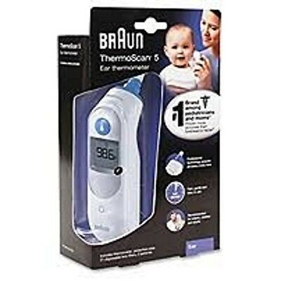 Braun  ThermoScan 5 Ear Thermomter NEW -Box has DIngs