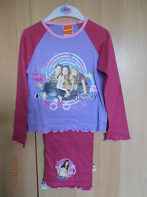 Carla Pink & Lilac Quality Girls Pyjamas Aged 5-6 Years Long Sleeves and Legs