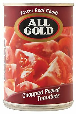 All Gold - Tomato - Chopped & Peeled (Chunks) - 410g Can