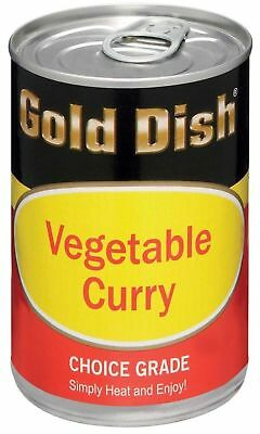 Gold Dish - Curry Vegetable - 415g Cans