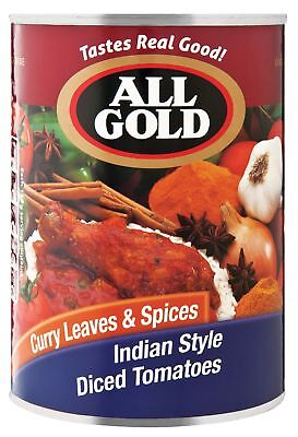 All Gold - Tomato - Indian Style - 410g Cans