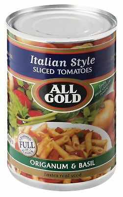 All Gold - Tomato - Italian Sliced - 410g Cans