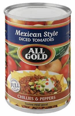 All Gold - Tomato - Mexican Style - 410g Tins