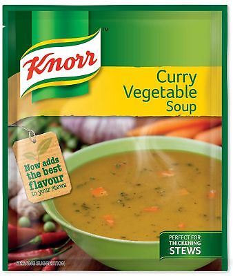 Knorr - Soup Curry Vegetable - 50g Sachets