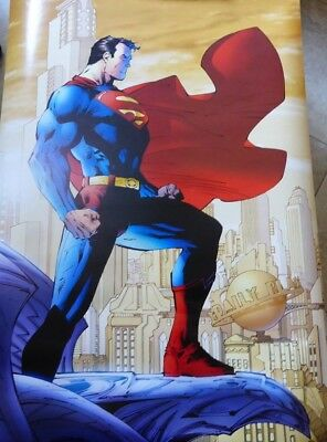 Superman #204 Poster 24x36 By Jim Lee Original Print Date