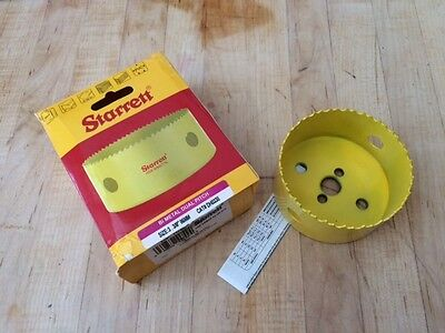 "Starrett DH0338 Dual Pitch Professional Bi-Metal Hole Saws- 3 3/3""  in. (86 mm)"