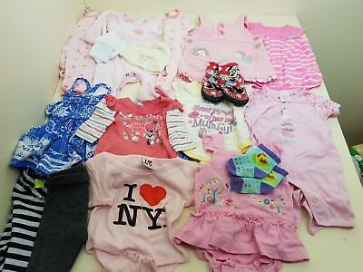 huge bulk lot of premmie baby girl size 0000 clothes - no faults