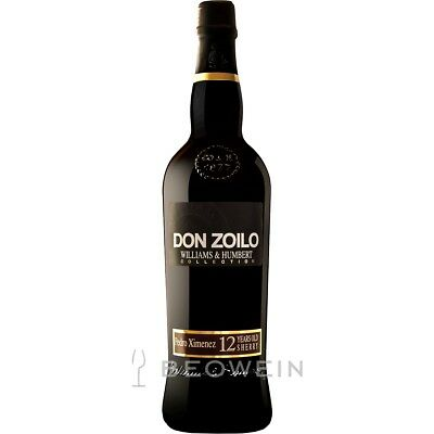 Don Zoilo Pedro Ximenez Sherry 12 Jahre 0,75 l Süßer Sherry, Williams & Humbert
