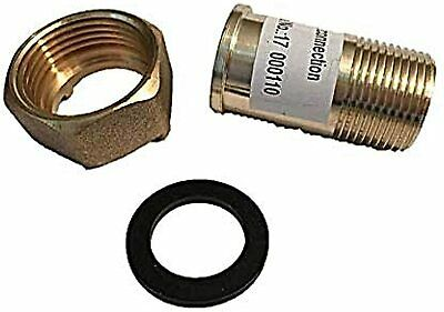 "DAE C-75NL 1pcs  3/4"" LeadFree Water Meter Coupling,3/4"" Male NPT,1"" Female NPSM"