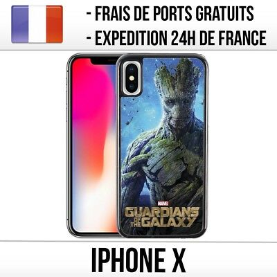 Coque iPhone X - Gardiens de la Galaxie Groot
