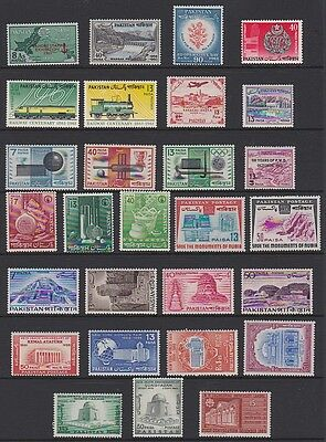 PAKISTAN 1961-64 MINT selection - many sets & complete issue