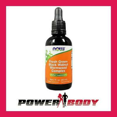 NOW Foods - Fresh Green Black Walnut Wormwood Complex - 60 ml.
