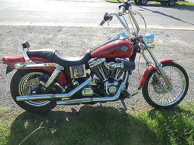 HARLEY DAVIDSON 2004 WIDE GLIDE WITH ONLY 18911 ks as new