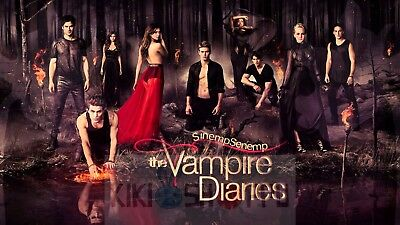 The Vampire Diaries Serie Cartel Decor 06 Poster A3 Cronicas Vampiricas