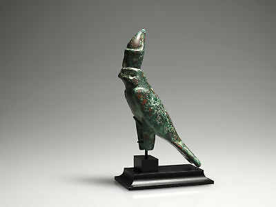 Egyptian Bronze Horus Falcon