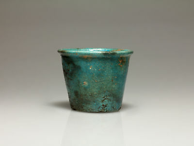 Egyptian Faience Cup