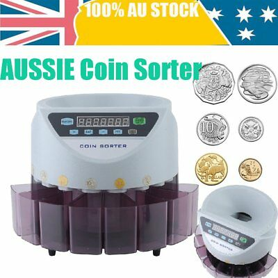 Modern Australian Coin Counter Money Sorter Automatic Counting Sorting Machine W