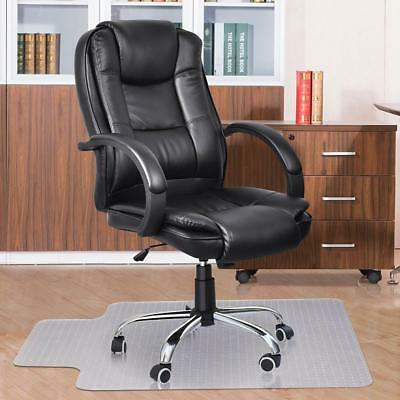 New Hard Floor Chair Mat Thick Vinyl Protect Plastic Office Work 120 x 90cm BNG