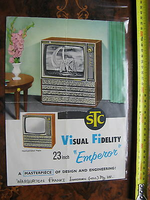 STC Emeror Television Pamphlet