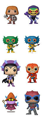 Funko Pop! Masters of the Universe (Set or Individual) ***Pre-Order***