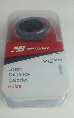 New Balance Via Heart Life Steps Distance Calories and Pulse Monitor 50025NB