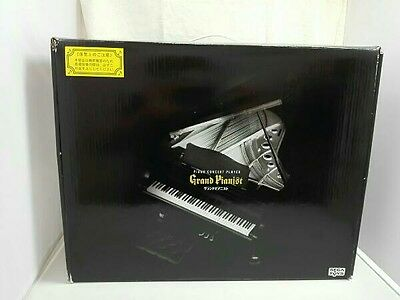 Genuine SEGA TOYS Black Grand Pianist with Box 1/6 scale Used Japan F/S 615
