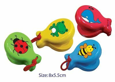 NEW Fun Factory - Wooden Colourful Castanet from Baby Barn Discounts