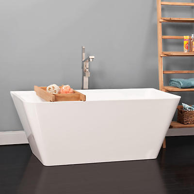 Freestanding Tub With Faucet Holes. SIGNATURE Hardware 55 Emeigh Acrylic Freestanding Tub No Faucet tub with faucet holes