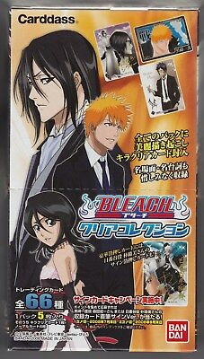 Bleach Carddass Clear Collection Part 1 Sealed Box Japanese