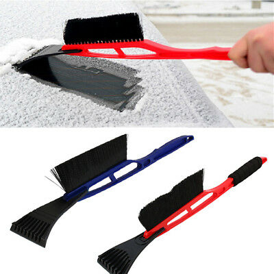 1X Removal Snow Car Shovel Scraper Clean Tool with Brush Winter Outdoor Snowing