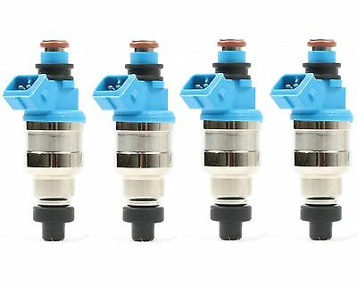 4x 440cc 42LB EV1 Fuel Injector for Honda Civic B16 B18 B20 D16 D18 F22 H22 H22A