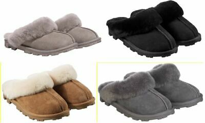 NEW - Kirkland Signature Ladies' Shearling Slipper, Size 6-10