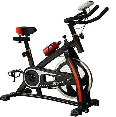 Heavy Duty Spin 18Kg Flywheel Exercise Bike Home Fitness Gym Led Monitor