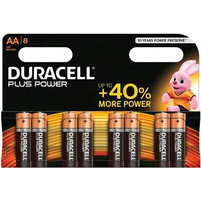 DURACELL 94023161 Conf. 8 pile ministilo Plus Power AAA 2400