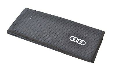 Taylor Made GOLF TOWEL AUDI RINGS - A Genuine Audi Accessory  50%OFF
