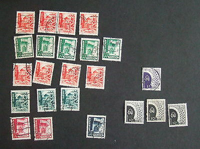 French Morocco 1949 used & MM selection - see photo -