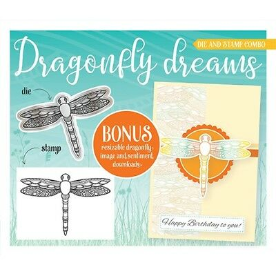 Simply Cards & Papercraft Magazine 171 - with Dragonfly Dreams Die & Stamp Set
