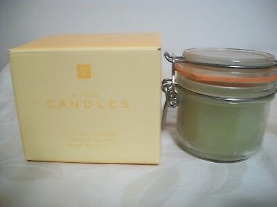 Avon Full Of Flavor Candle In Jar Warm Apple Pie In Mason Jar